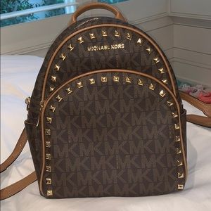 Selling a Michael Kors backpack